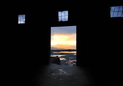Sunset At The Door - The Great Salt Lake Art Print