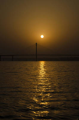 Photograph - Sunset At The Ganga - Allahabad by Rohit Chawla