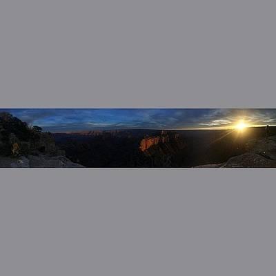 Iphone 5s Photograph - Sunset At The Grand Canyon. #sunset #az by Stuart Wells