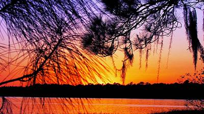 Photograph - Sunset At The Lake 2 by Will Boutin Photos