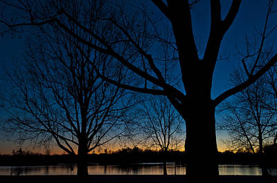 Photograph - Sunset At The Lake by Celso Bressan