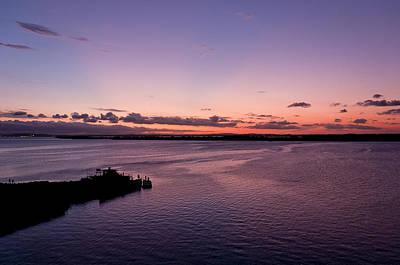 Photograph - Sunset At The River by Celso Bressan