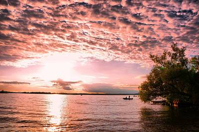 Photograph - Sunset At The Seaway by Emily Stauring