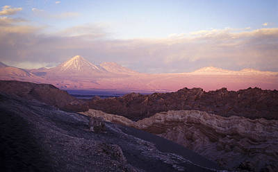 Art Print featuring the photograph Sunset At The Valley Of The Moon by Lana Enderle