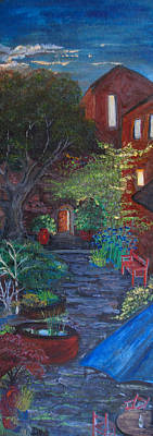 Painting - Sunset At The Villa by Dixie Adams