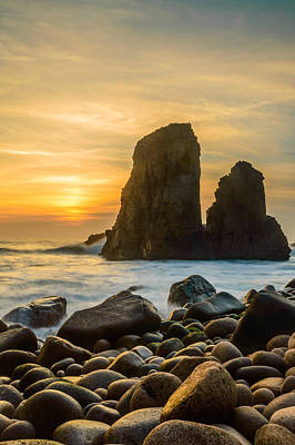 Photograph - Sunset At The World's End Iv by Marco Oliveira