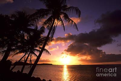 Sunset At Tumon Bay, Guam Art Print