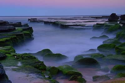 Photograph - Sunset At Turimetta Beach by Alex Teng