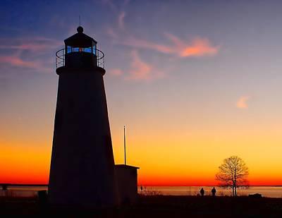 Photograph - Turkey Point At Sunset by Nick Zelinsky