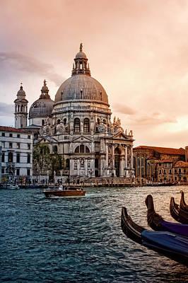 Photograph - Sunset At Venice by Zu Sanchez Photography