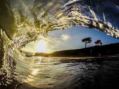 David Alexander Photograph - Sunset Barrel by David Alexander