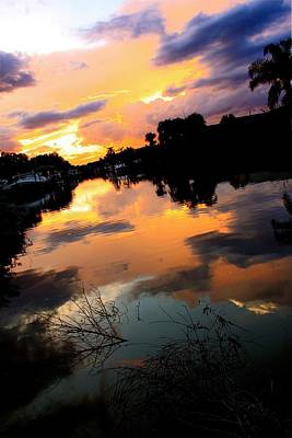 Photograph - Sunset Bay by AR Annahita