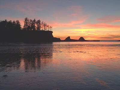 Photograph - Sunset Beach Pastel by Suzy Piatt