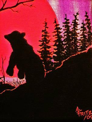 Photograph - Sunset Bear by Al Fritz