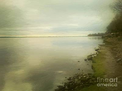Sunset Before The Storm Print by RC DeWinter