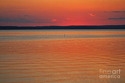 Photograph - Sunset Behind The Horizon by Ella Kaye Dickey