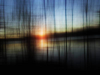 Sunset Blur Art Print by Florin Birjoveanu