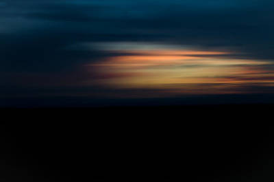 Photograph - Sunset Blur by Swift Family