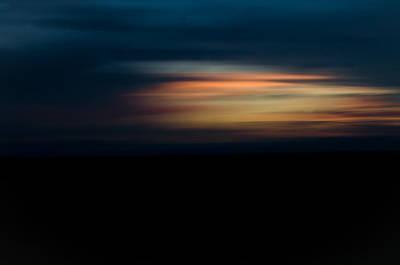 Sunset Blur Art Print by Swift Family
