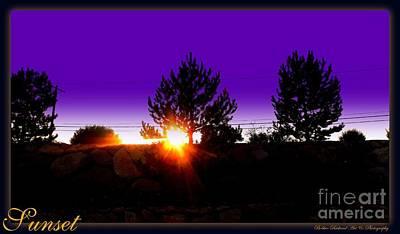 Photograph - Sunset  by Bobbee Rickard