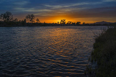 Photograph - Sunset Boise River by Vishwanath Bhat