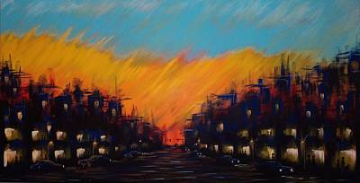 Painting - Sunset Boulevard by Timothy Michaels Flores