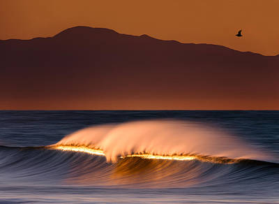 Photograph - Sunset Breaking73a0456 by David Orias