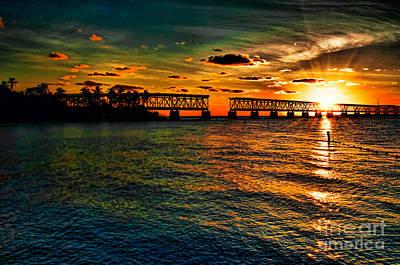 Nautical Animals - Sunset Bridge by Photos By  Cassandra