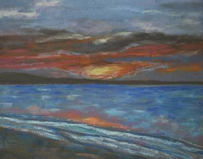 Pastel - Sunset by Calliope Thomas