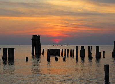 Photograph - Sunset Cape Charles by Richard Reeve