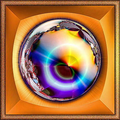 Digital Art - Sunset Capture by Wendy J St Christopher
