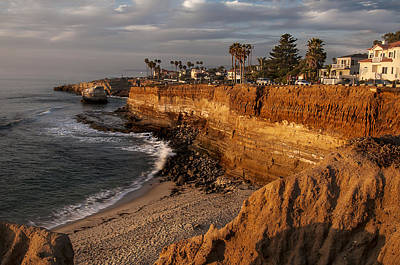 Photograph - Sunset Cliffs 1 by Lee Kirchhevel