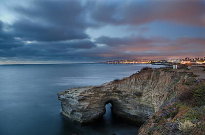 Photograph - Sunset Cliffs by Margaret Pitcher