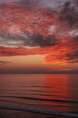 Photograph - Sunset Cliffs Sunset 1 by Lee Kirchhevel