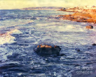 Photograph - Sunset Cliffs Waves by Glenn McNary