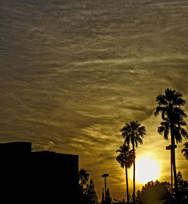 Sunset Clouds Art Print by Marquis Crumpton