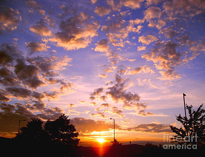 Photograph - Sunset Clouds by Nina Ficur Feenan