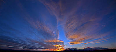 Photograph - Sunset Colorado by Eric Rundle