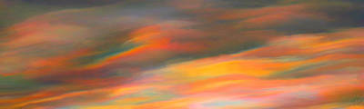 Sunrise Painting - Fire In The Sky by Bruce Nutting
