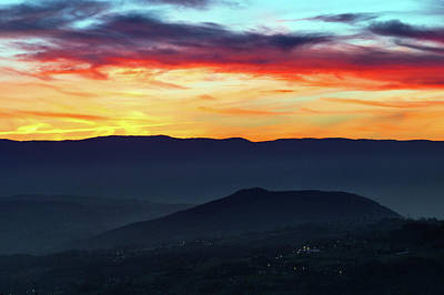 Photograph - Sunset Colors From The Alps by Babak Tafreshi
