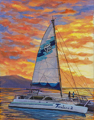 Painting - Sunset Cruise by Darice Machel McGuire