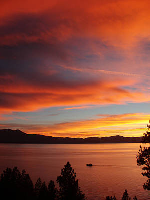 Sunset Cruise Lake Tahoe Original