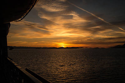 Photograph - Cruise Sunset by Marilyn Wilson