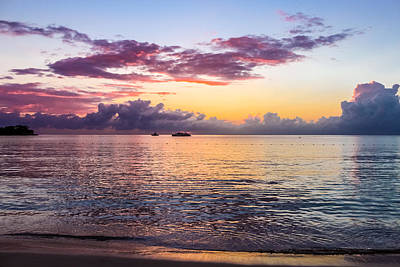 Jamaican Sunset Photograph - Sunset Cruise by Todd Reese