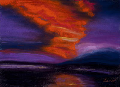 Sunset Art Print by Dana Strotheide