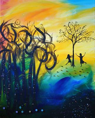 Painting - Sunset Dance by Emily Maynard