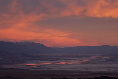 Photograph - Sunset Death Valley Img 0277 by Greg Kluempers