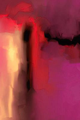 Sunset Art Print by   DonaRose