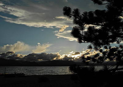 Photograph - Sunset Drama Over Lake Tahoe by Kirsten Giving