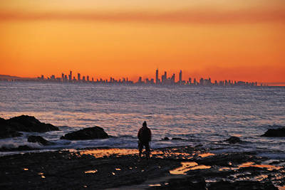 Photograph - Sunset Dreamer @ The Gold Coast by Ankya Klay